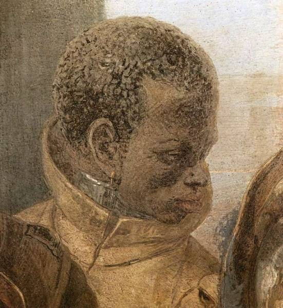 Tiepolo Palazzo Labia The Banquet of Cleopatra detail5